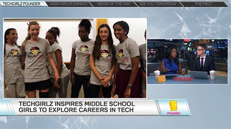 TechGirlz Inspires Middle School Girls